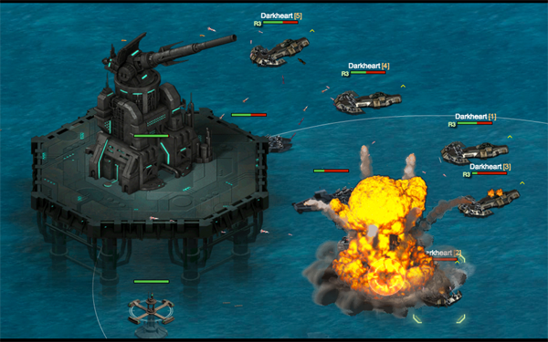 Battle pirates play the game on crazygames com