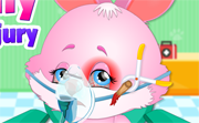 Cute Bunny Face Injury